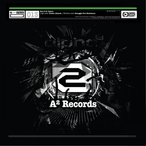 Ran-D featuring Adaro - Struggle For Existence - A2 Records - 06:39 - 16.07.2010