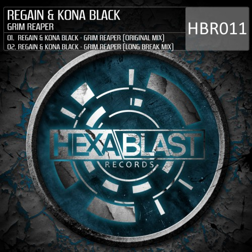 Regain Feat. Kona Black - Grim Reaper - Hexablast Records - 06:49 - 20.06.2013