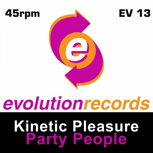 Kinetic Pleasure - Check Check - Evolution Records - 04:15 - 16.11.2015