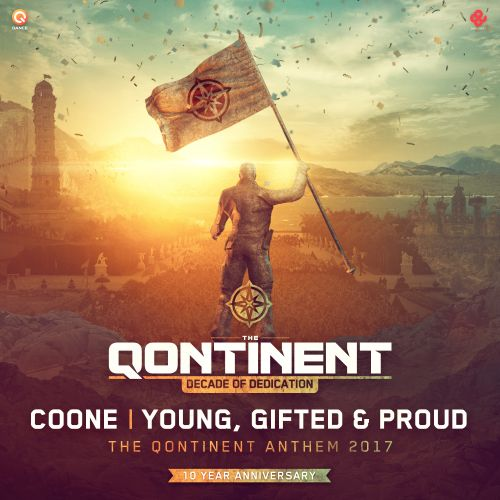Coone - Young, Gifted & Proud (The Qontinent Anthem 2017) - Q-dance Records - 04:24 - 21.07.2017