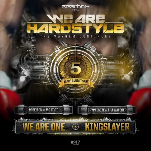 Rebelion ft. MC Livid - We Are One (Official We Are Hardstyle 2017 Anthem) - Gearbox Digital - 03:09 - 18.12.2017