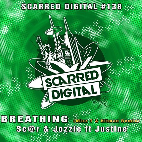 Sc@r & Jozzi ft Justine - Breathing - Scarred Digital - 05:05 - 05.06.2018