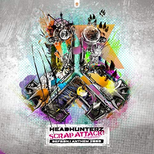 Headhunterz - Scrap Attack (Defqon.1 2009 Anthem) - Q-Dance Records - 06:00 - 25.06.2009