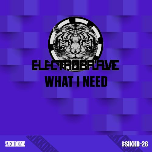 Electrobrave - What I Need - Sikkdome Records - 05:00 - 11.10.2019
