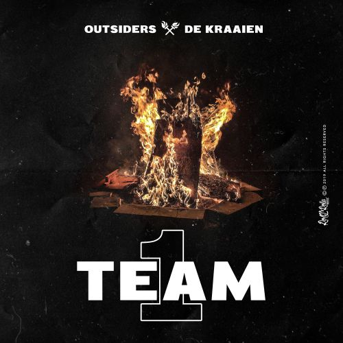 Outsiders and De Kraaien - 1 Team - ROQ 'N Rolla Music - 03:19 - 20.12.2019
