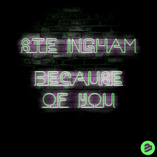 Ste Ingham - Because of You - BIP Records - 03:18 - 24.01.2020