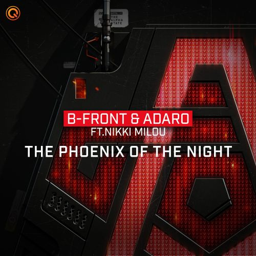 B-Front & Adaro ft. Nikki Milou - The Phoenix Of The Night - Q-dance Records - 05:01 - 27.03.2020